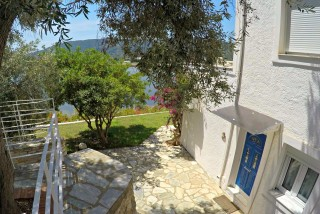 double bed studio villa ariadni terrace
