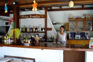 facilities ariadni villa reception