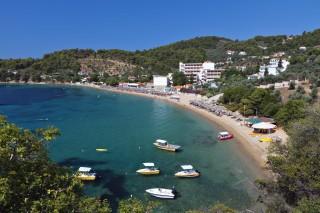 skiathos beach ariadni villa achladies