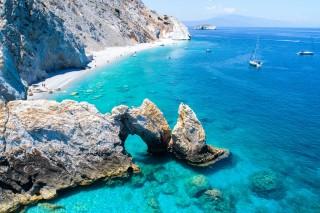 skiathos beach ariadni villa blue lagoon