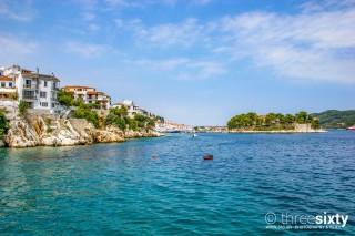 skiathos town ariadni villa beach