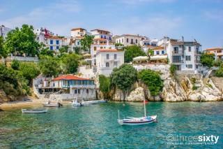 skiathos town ariadni villa chora